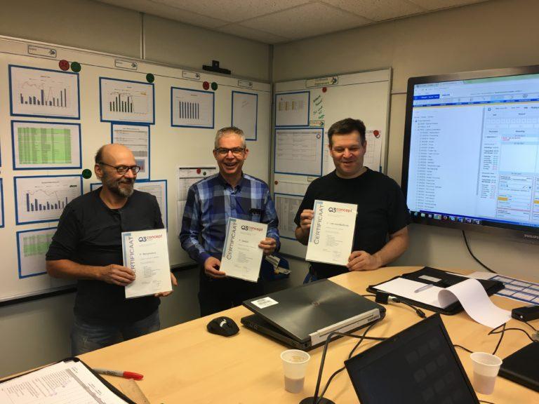 Certificaat uitreiking bij Philips Signify