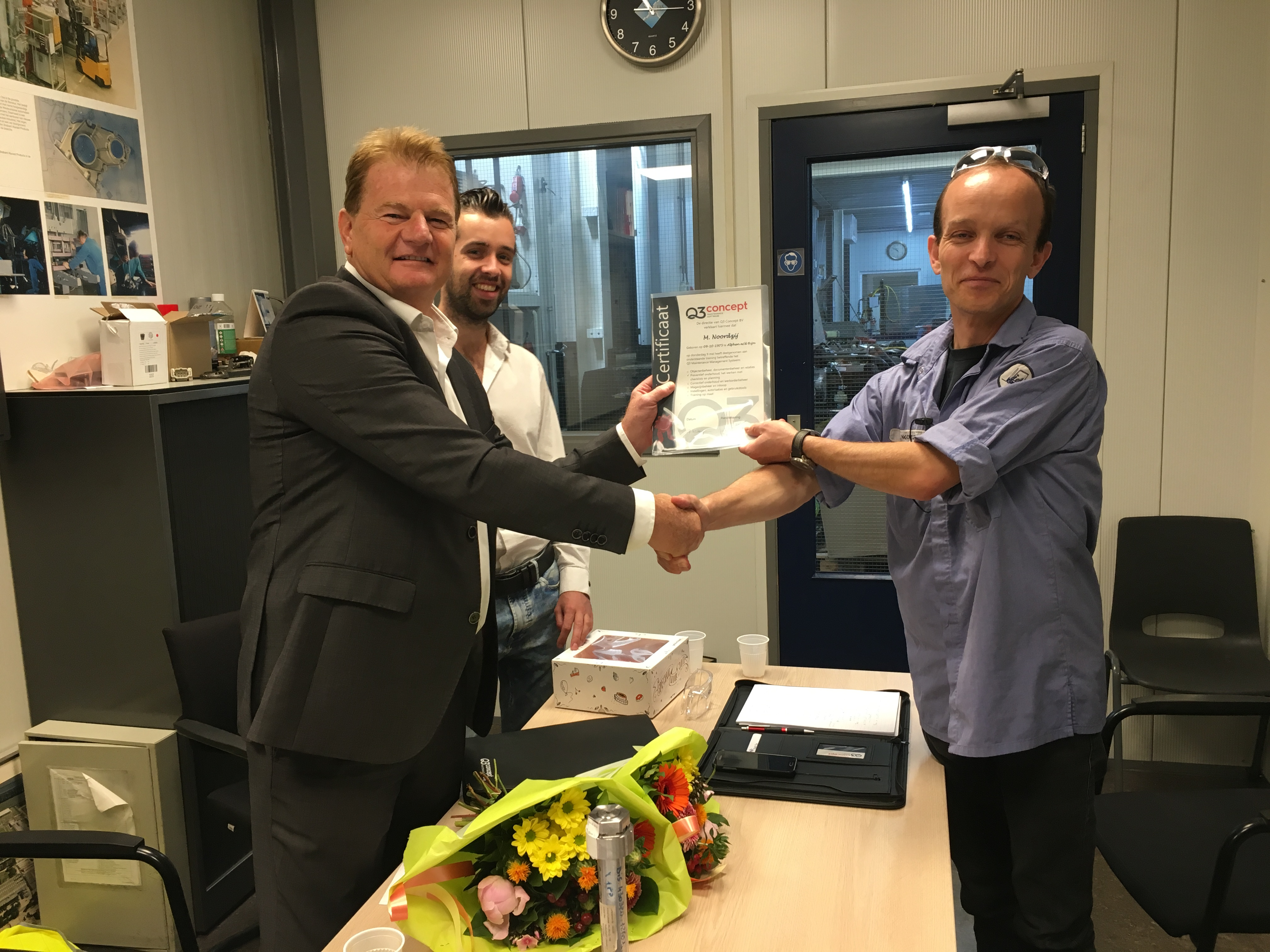 Uitreiking certificaten Shiloh