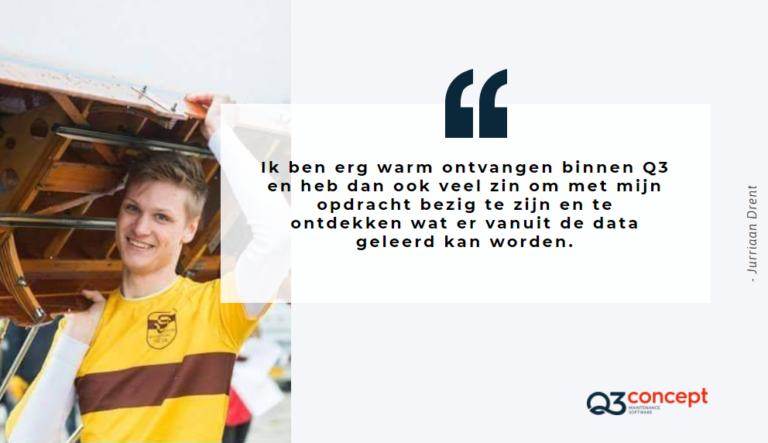 Jurriaan Drent voorstellen bij Q3 concept